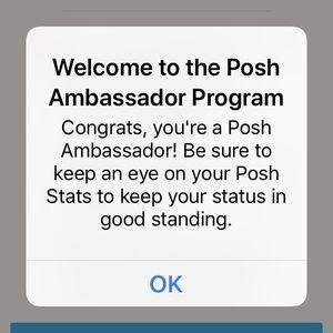 Other - I'm a Posh Ambassador! 🎉